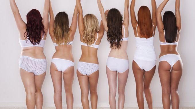 Cellulite und Frauen