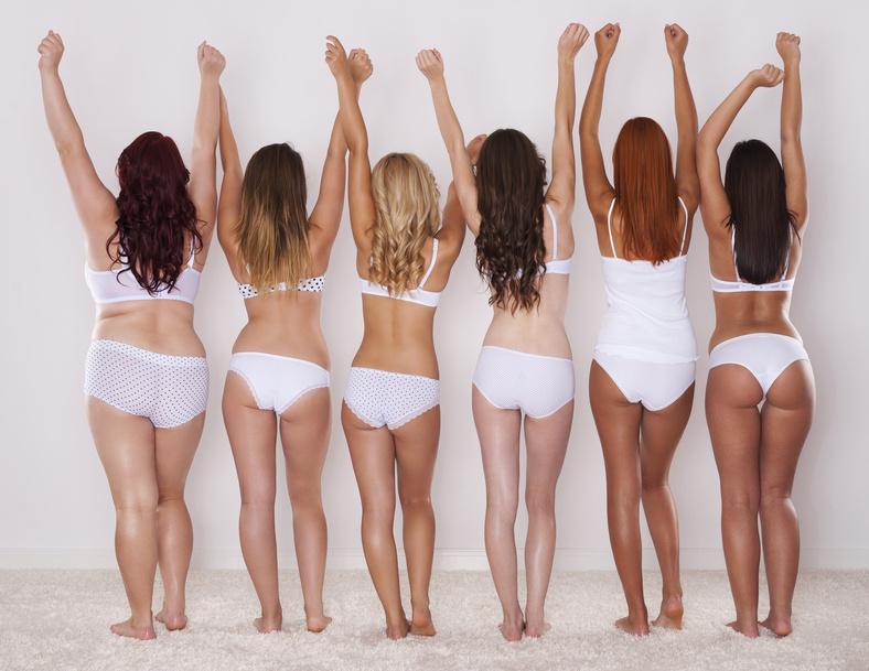 Frauen und Cellulite